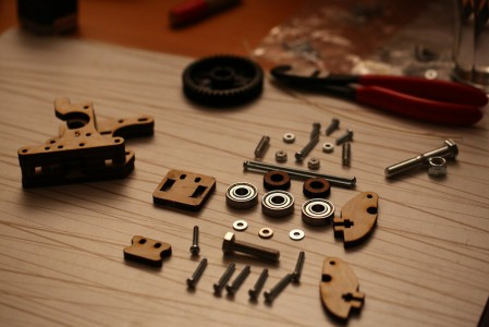 printrbot_extruder_parts_laid_out