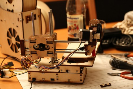 Printrbot fully assembled!